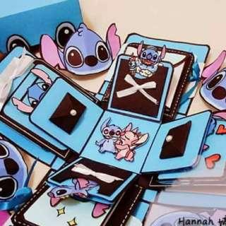 Stitch Explosion Box