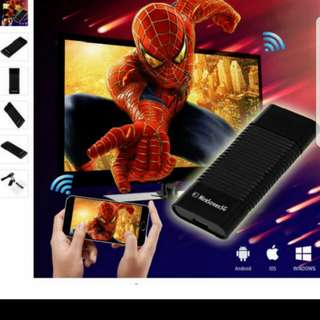 X`mas 5G Speed MiraScreen Phone Laptop Tablet OTA TV Stick Dongle 5G Wi-Fi Display Receiver Better Than EZCAST DLNA Airplay Miracast Air mirroring Chromecas Screen Mirroring 😀💓📺📲 Convert any lcd tv projector To SMART TV