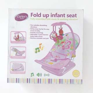Carter Fold up Infant Seat with Music