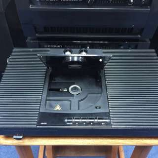 Rare Musical Fidelity Class A CDT top loading CD player