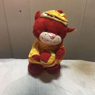 Cat in Chinese Costume Stuffed Toy