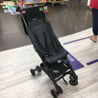 Pockit stroller (used, broken footrest and One safety bucker, first version and can't recline)