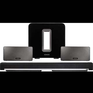 Sonos 5.1 Setup