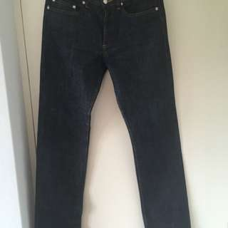 A.P.C. New Standard straight leg jeans 30