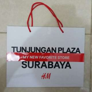 Paperbag / Paper Bag / Tas Karton Branded H&M