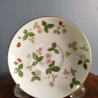 Wedgwood Wild Strawberry Saucers