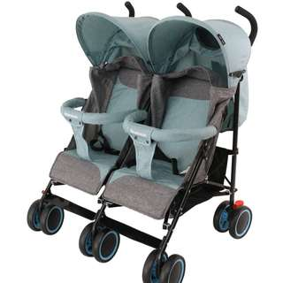 BABY DOUBLE STROLLER TWINS TRAVEL BABY STROLLER LIGHT WEIGHT
