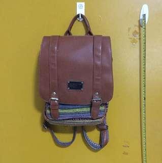 Backpack, hard cloth design