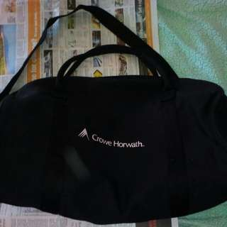 Black Duffle bag carry on size