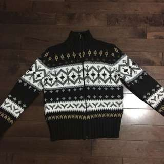 Zip up Sweater Size M
