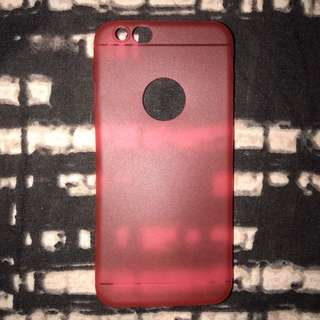 iphone 6/6s Ultra Thin Red Case