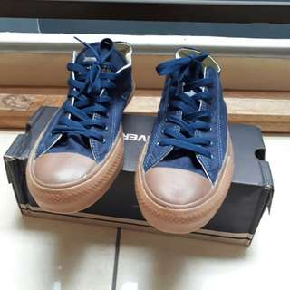Converse CT All Star II Gum Low - Navy