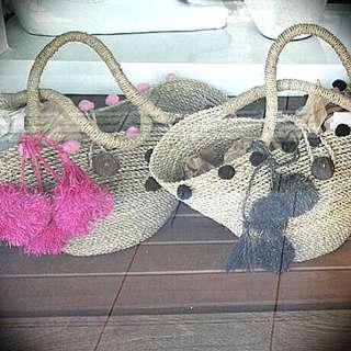 Pompom Country Bag