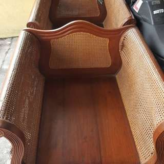 Antique teakwood chair