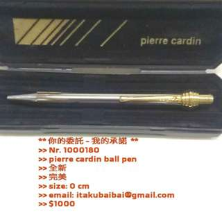 >>	pierre cardin ball pen