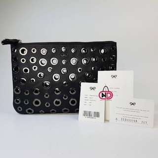 AUTHENTIC ANYA HINDMARCH PEEPHOLE POUCH