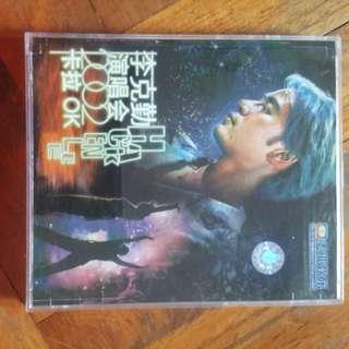 李克勤 Hacken Lee 演唱会 2002卡拉OK VCD