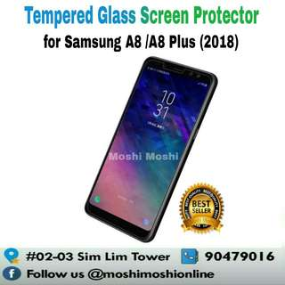 Samsung A8 /A8 Plus+ 2018 Tempered Glass Screen Protector