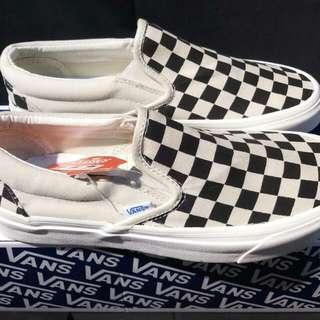 VANS OG CLASSIC SLIP ON CHECKERBOARD Size:36 - 44