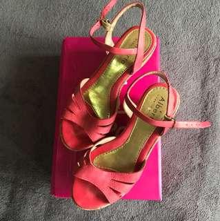 Alberto Pink Heels Size 7
