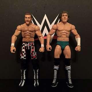 Sami Zayn and Bob Orton Elite WWE Mattel Action Figure Set