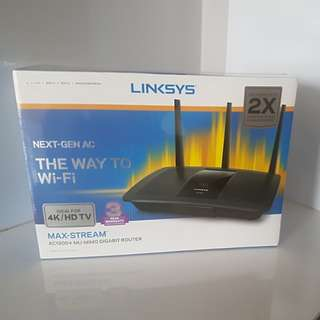 Linksys Max-Stream AC1900+ MU-MIMO Gigabit Router