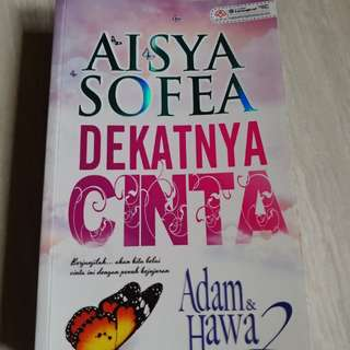 "Preloved Malay Novel ""Dekatnya Cinta"""