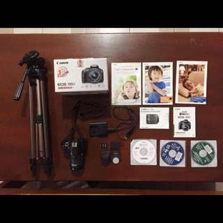 Canon 100 D complete package
