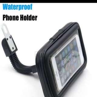 In stock!  Motor bike adjustable hand phone mounting waterproof case bag for iPhone 6,6s,7plus 5.5 inch waterproof phone holder