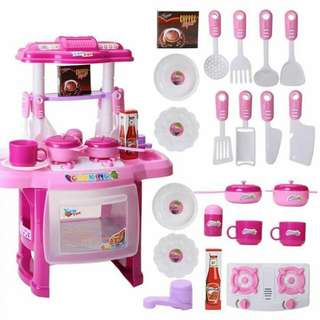 KITCHEN SET (WITH MUSIC LIGHT)