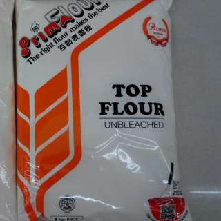 $2 Top flour for baking