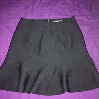 Glassons black knit skirt