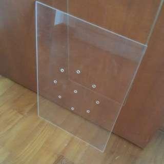 Acrylic divider