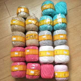 Crochet thread yarn Grace