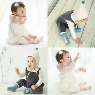 Newborn Baby Cotton Non-slip Socks