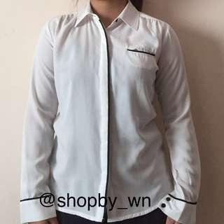 Kemeja Putih White Shirt by Connexion
