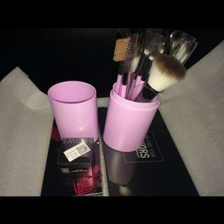 12 pcs brush make up set & botolnya