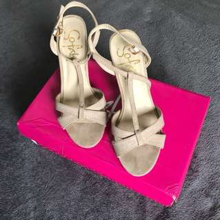 So Fab Heels (Old Rose) Size 7