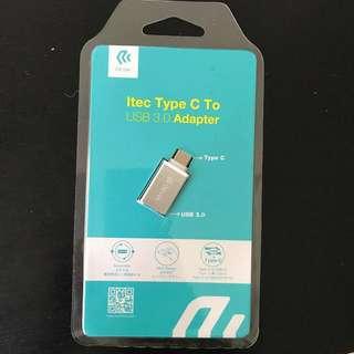 BNIP DEVIA Itec Type C To USB 3.0 Adapter