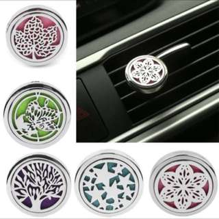 Car Aromatherapy essential oil diffuser for air con vent