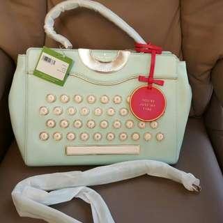 Kate Spade New Limited Edition Typer Handbag