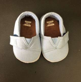TOMS Baby Shoes Rarely used