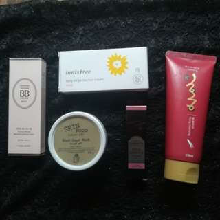 Authentic Korean Products Bundle