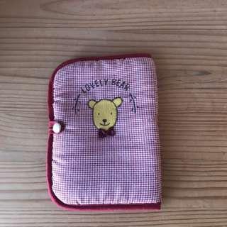 Cotton passport holder