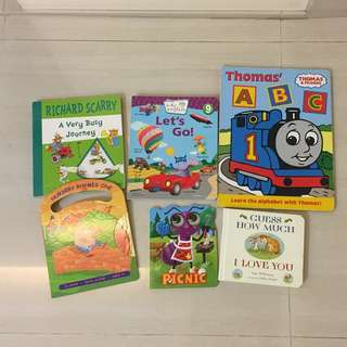 Bundle Board Books & CD Book - Thomas