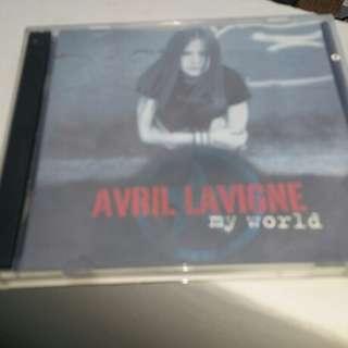 CD Avril Lavigne My World