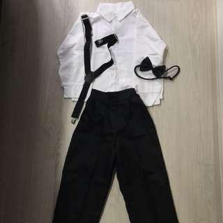 Boy Suit Size 110