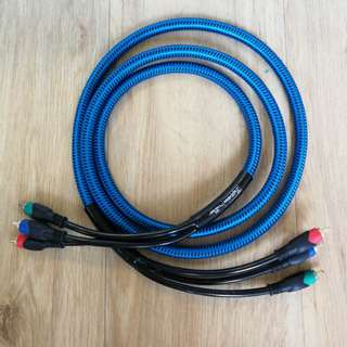 2 meters RCA component cable