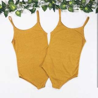 Mustard Bodysuit