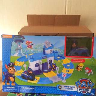Paw Patrol Toy Set (Track style) / Children birthday gift / Goodie Bag